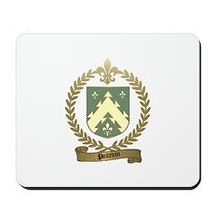 POITEVIN Family Crest Mousepad