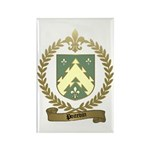 POITEVIN Family Crest Rectangle Magnet (10 pack)