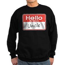 Hello, My Name is Uncle Sweatshirt