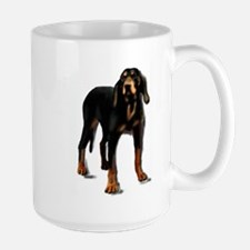 black and tan hound Mug