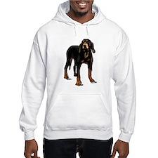 black and tan hound Hoodie