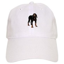 black and tan hound Baseball Cap