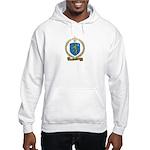 PLOURDE Family Crest Hooded Sweatshirt