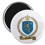 PLOURDE Family Crest Magnet