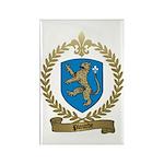 PLOURDE Family Crest Rectangle Magnet (10 pack)