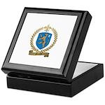 PLOURDE Family Crest Keepsake Box