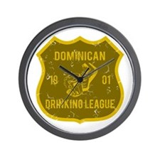 Dominican Drinking League Wall Clock