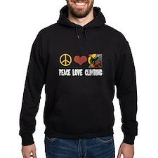 Peace Love Climbing Hoodie