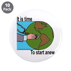 """As the world Rots 3.5"""" Button (10 pack)"""