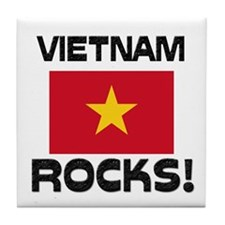 Vietnam Rocks! Tile Coaster