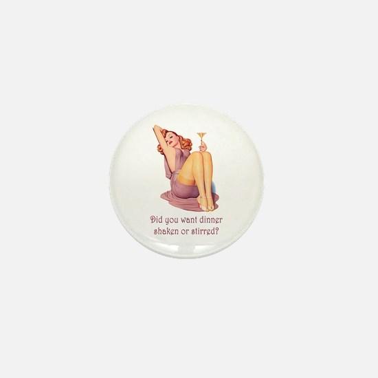 SHAKEN OR STIRRED Mini Button