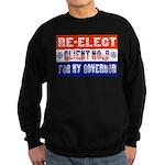 Re-Elect Client No. 9 Sweatshirt (dark)