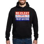 Re-Elect Client No. 9 Hoodie (dark)