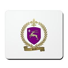 PINET Family Crest Mousepad