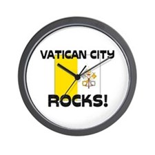 Vatican City Rocks! Wall Clock