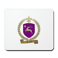 PINETTE Family Crest Mousepad