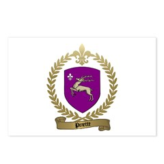 PINETTE Family Crest Postcards (Package of 8)