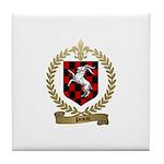 PINEAU Family Crest Tile Coaster