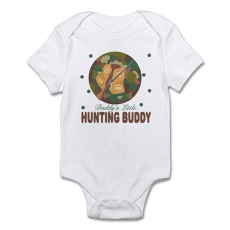 Daddy's Little Hunting Buddy Baby Infant Bodysuit