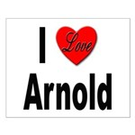 I Love Arnold Small Poster