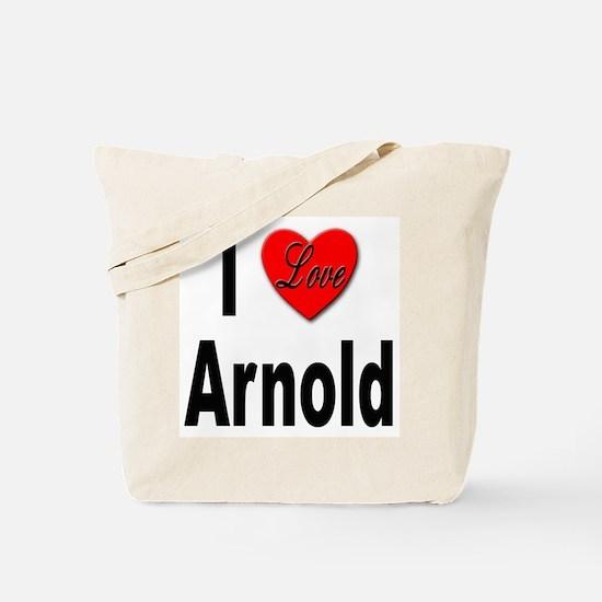 I Love Arnold Tote Bag