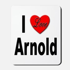 I Love Arnold Mousepad