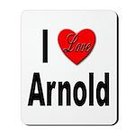 I Love Arnold Mousepad
