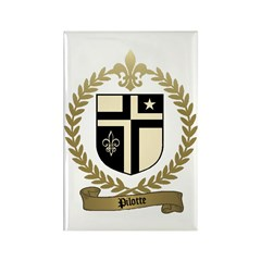 PILOTTE Family Crest Rectangle Magnet (10 pack)