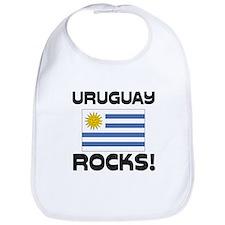 Uruguay Rocks! Bib