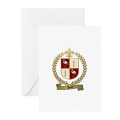 PICOT Family Crest Greeting Cards (Pk of 10)
