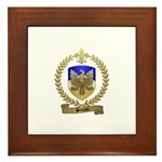 PICHAUD Family Crest Framed Tile