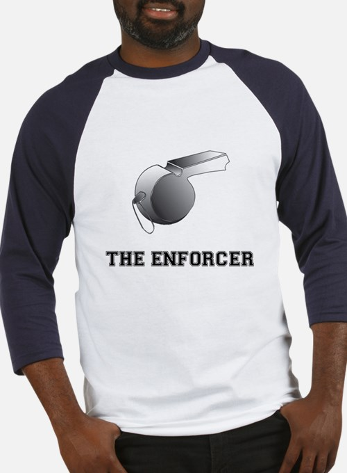 The Enforcer Ref Baseball Jersey