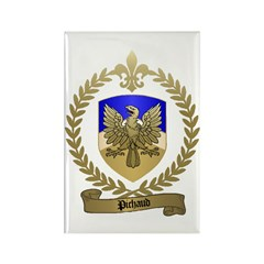 PICHAUD Family Crest Rectangle Magnet (10 pack)