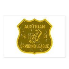 Austrian Drinking League Postcards (Package of 8)