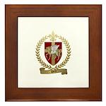 PETIT Family Crest Framed Tile