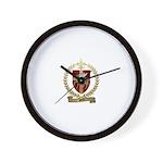 PETIT Family Crest Wall Clock