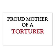 Proud Mother Of A TORTURER Postcards (Package of 8