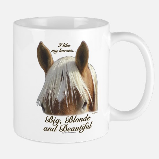 Blonde Belgian Mug