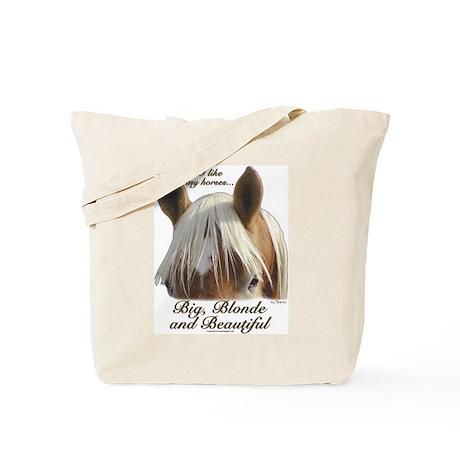 Blonde Belgian Tote Bag