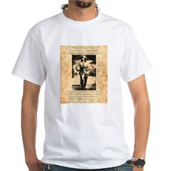 Bill Cody White T-Shirt