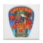 Riverside FD Station 4 Tile Coaster