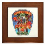 Riverside FD Station 4 Framed Tile