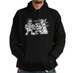 Funny Monsters Hoodie (dark)