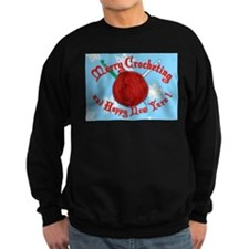 Merry Crocheting Sweatshirt