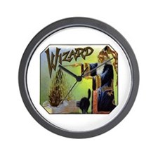 Wizard Fantasy Wall Clock