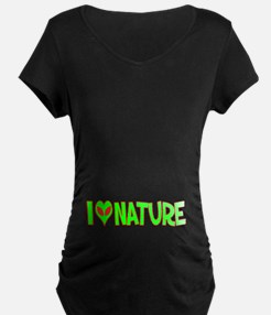 I Love-Alien Nature T-Shirt