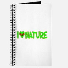 I Love-Alien Nature Journal