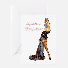Sparkling Diamond Greeting Card