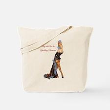 Sparkling Diamond Tote Bag