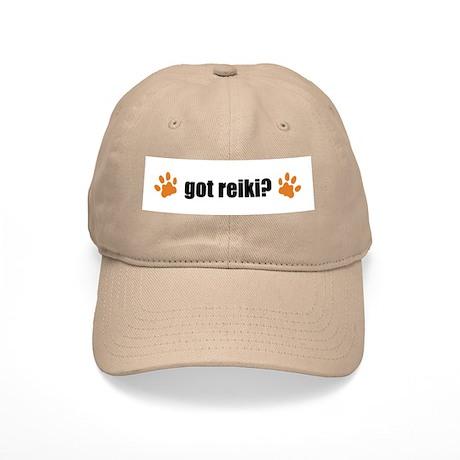 Got Reiki? Cat Pawprints Cap